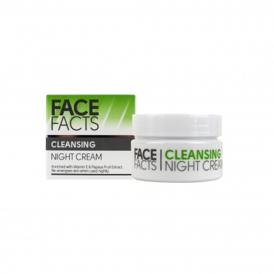 Face Facts Cleansing Night Cream 50 ml