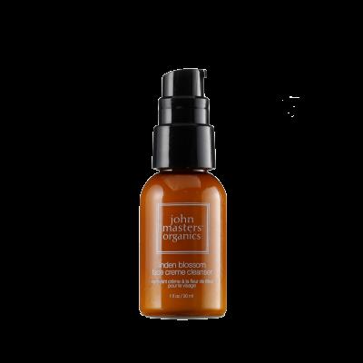 John Masters Organics Linden Blossom Face Creme Cleanser 30 ml