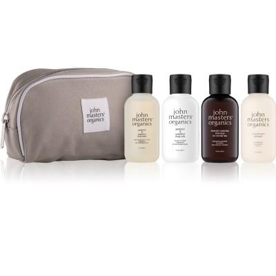 John Masters Organics Hair & Body Essential Travel Kit 4 x 60 ml + 1 st