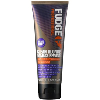 Fudge Clean Blonde Damage Rewind Shampoo 50 ml