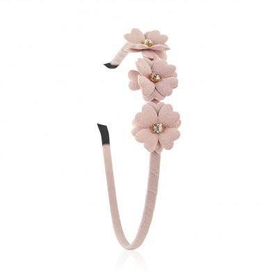 Everneed Mynte Flower Headband Nude Rosa 1 pcs