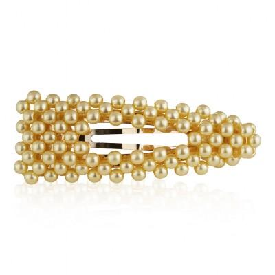 Everneed Pretty Bubba Glam Pearl hiusklipsi helmillä Kissed 6,5 cm