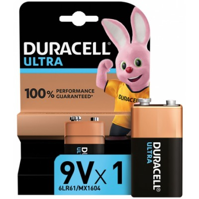 Duracell 9V Ultra 1 kpl