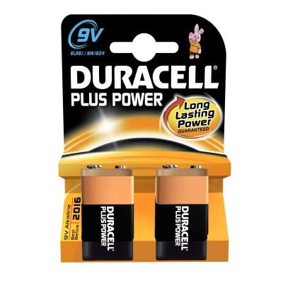 Duracell 9V Plus Power 2 st