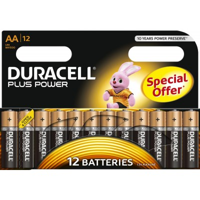 Duracell AA Plus Power 12 stk