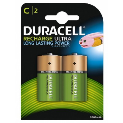 Duracell Recharge Ultra C2 2 st