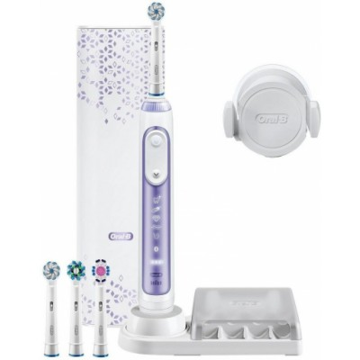 Oral-B Genius 10000N Orchid Purple Electric Toothbrush 7 st