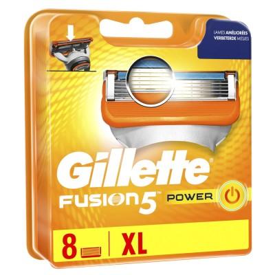 Gillette Fusion 5 Power terä 8 kpl