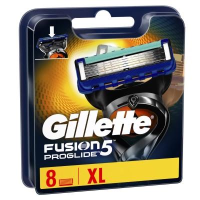 Gillette Fusion 5 Proglide Razor Blades 8 stk