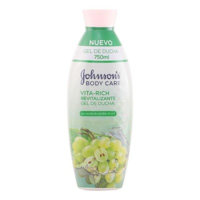 Johnson's Vita Rich Revitalising Grape Shower Gel 750 ml