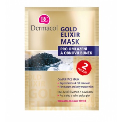 Dermacol Gold Elixir Caviar Face Mask 2 x 8 g