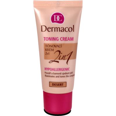 Dermacol 2in1 Toning Cream 03 Desert 30 ml