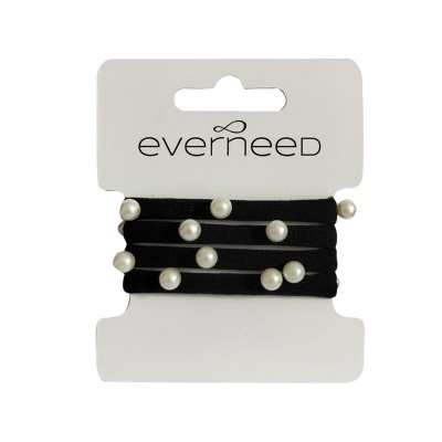 Everneed Sindy Pearl Soft Black 4 kpl
