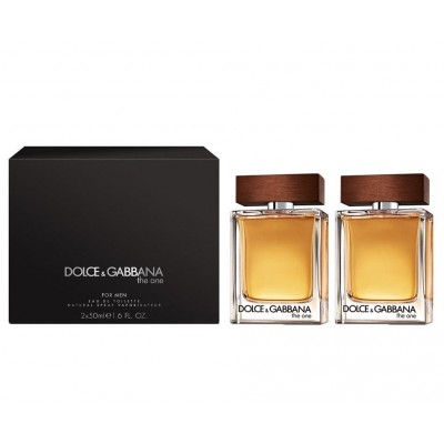 Dolce & Gabbana The One For Men EDT Duo 2 x 50 ml