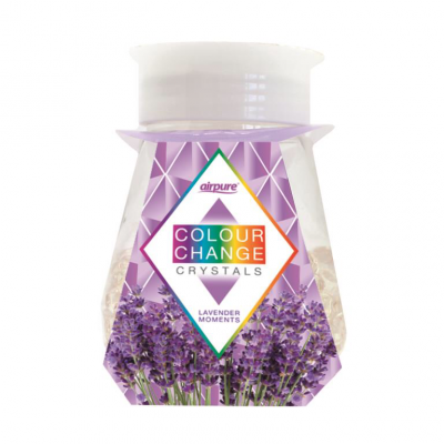 Airpure Colour Change Crystals Lavender Moments 300 g