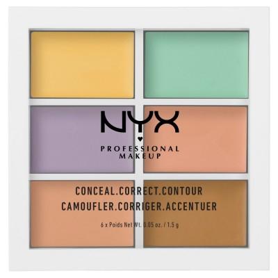 NYX Color Correcting Concealer Palette 1,5 g