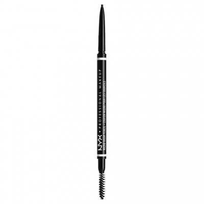 NYX Micro Brow Pencil Black 1 stk