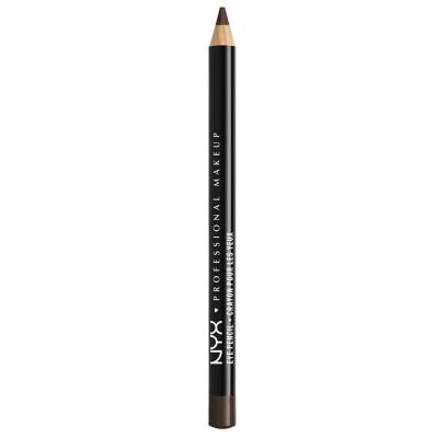 NYX Slim Eye Pencil Black Brown 1 kpl
