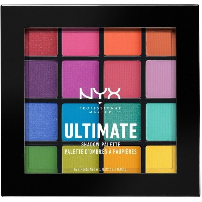 NYX Ultimate Shadow Palette Brights 1 kpl