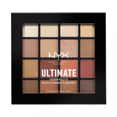 NYX Ultimate Shadow Palette Warm Neutrals 1 pcs