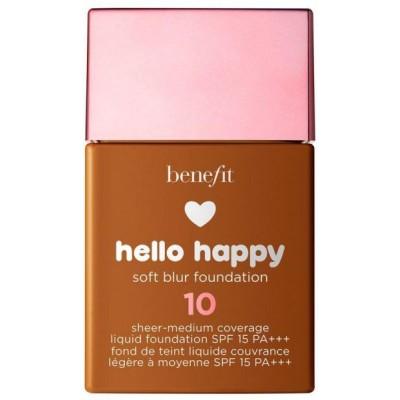 Benefit Hello Happy Soft Blur Foundation 10 Deep Warm 30 ml