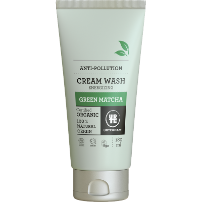 Urtekram Green Matcha Cream Wash 180 ml