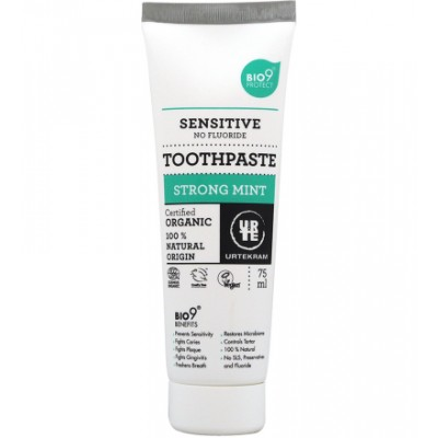 Urtekram Strong Mint Toothpaste Organic 75 ml