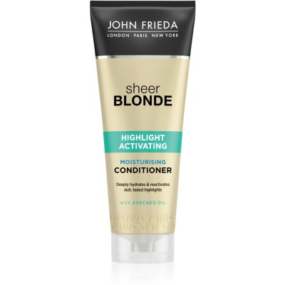 John Frieda Sheer Blonde Highlight Activating Moisturizing Conditioner 250 ml