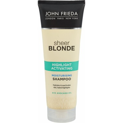 John Frieda Sheer Blonde Highlight Activating Moisturizing Shampoo 250 ml