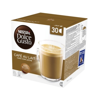 Nescafe Dolce Gusto Cafe Au Lait Big Pack 30 stk