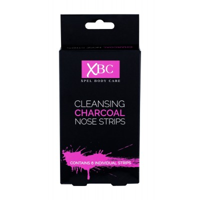 XBC Cleansing Charcoal Nose Strips 6 pcs