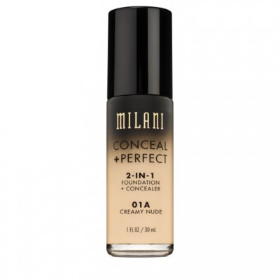 Milani Conceal + Perfect 2in1 Foundation + Concealer 01A Creamy Nude 30 ml