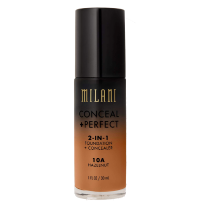 Milani Conceal + Perfect 2in1 Foundation + Concealer 10A Hazelnut 30 ml