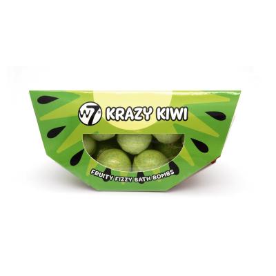 W7 Fruity Frizzy Bath Bombs Krazy Kiwi 10 x 10 g