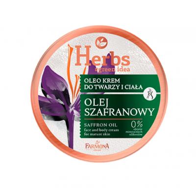 Farmona Herbs Saffron Oil Face & Body Cream For Mature Skin 100 ml