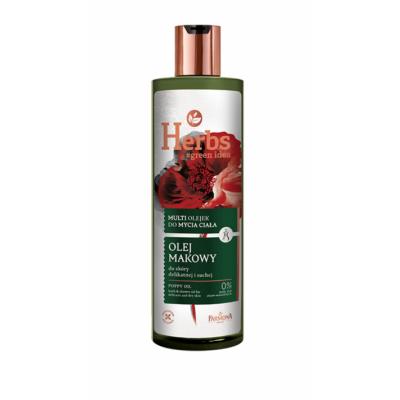 Farmona Herbs Poppy Oil Bath & Shower Oil For Delicate & Dry Skin 400 ml