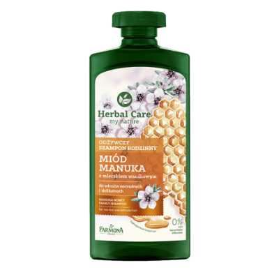 Herbal Care Nourishing Family Shampoo Manuka Honey 500 ml