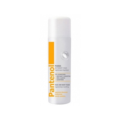 Pantenol Regenerating & Smoothing Face & Body Foam 150 ml