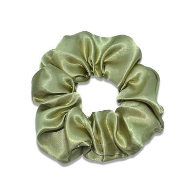 Everneed Scrunchie Silk Army 1 pcs