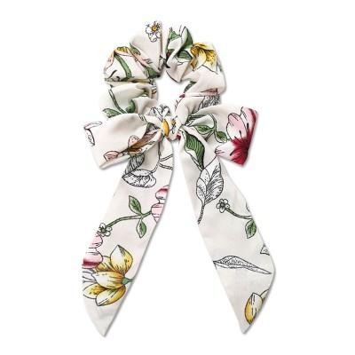 Everneed Trille hiuslenkki rusetilla White Flowers 1 kpl