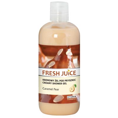 Fresh Juice Caramel & Pear Creamy Shower Gel 500 ml