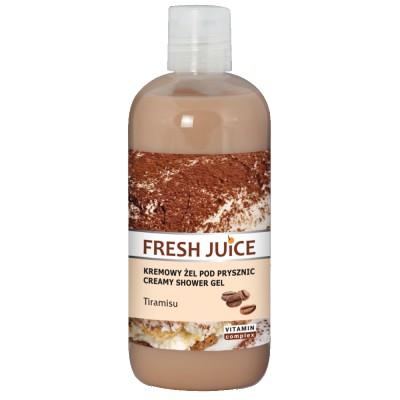 Fresh Juice Tiramisu Creamy Shower Gel 500 ml