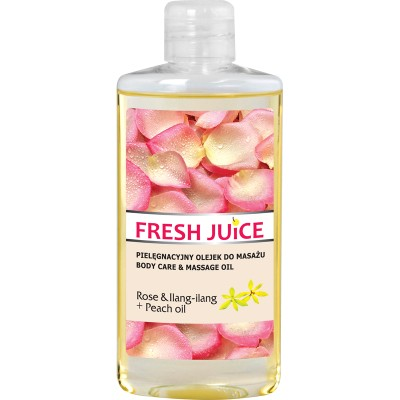Fresh Juice Rose & Ilang-Ilang Body Care & Massage Oil 150 ml