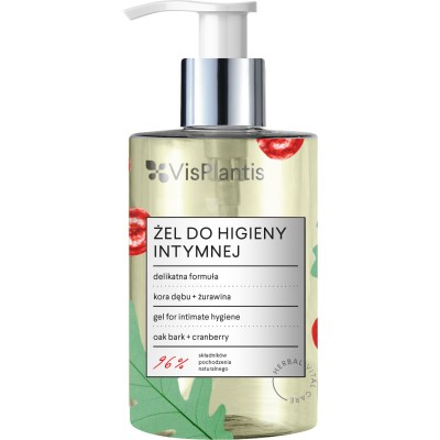 Vis Plantis Herbal Vital Care Oak & Cranberry Intimate Gel 300 ml