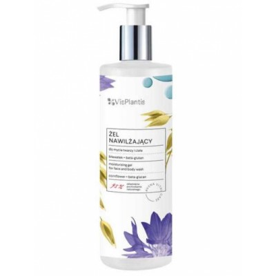 Vis Plantis Cornflower Face And Body Wash 400 ml