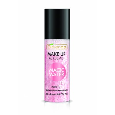 Bielenda Make-Up Academie Magic Water 3in1 Primer Pink 150 ml