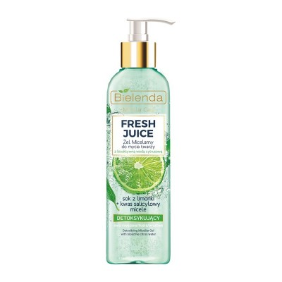 Bielenda Fresh Juice Detoxifying Micellar Gel Lime 190 g