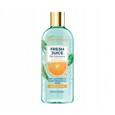 Bielenda Fresh Juice Moisturizing Micellar Liquid Orange 500 ml