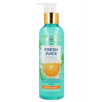 Bielenda Fresh Juice Moisturizing Micellar Gel With Orange 190 g