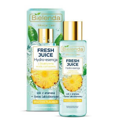 Bielenda Fresh Juice Brightening Hydro-Essence Pineapple 110 ml